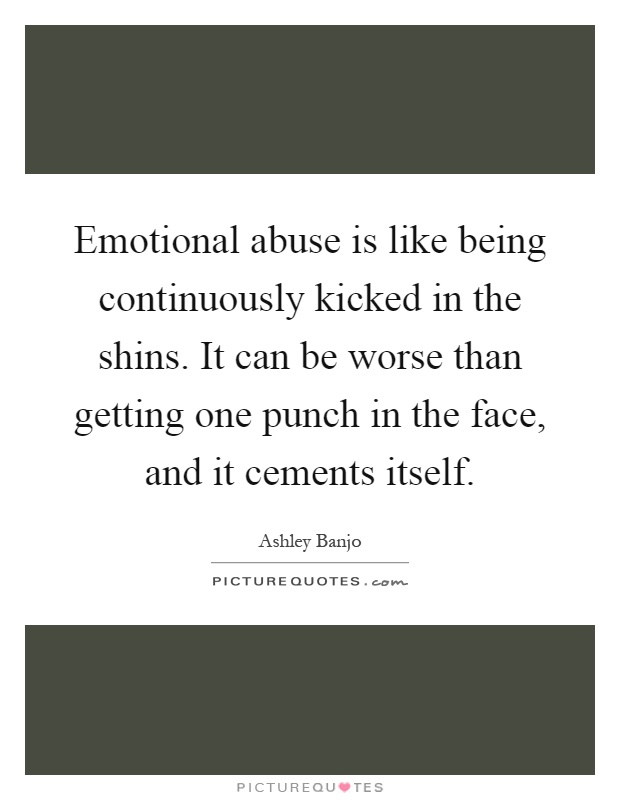 Physical signs of emotional abuse in adults the truth